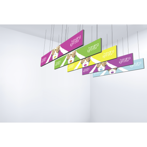 Vector Frame Hanging Light Box 30ft x 3ft