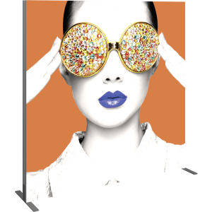 Vector Frame Light Box Square 03 Fabric Banner Display