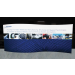 Formulate Master 20ft WSC1 Serpentine Curve Fabric Backwall